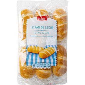 ALIADA pan de leche envasados individualmente 12 unidades  bolsa 480 g