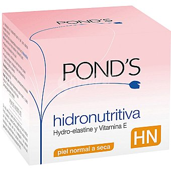 POND'S HN Hidronutritiva con vitamina E y alantoína tarro 50 ml piel normal a seca Tarro 50 ml