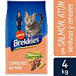 Alimento para gatos sabor salmón y atún Bolsa 4 kg Brekkies Affinity
