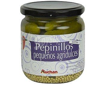 Auchan Pepinillos pequeños agridulces 180 gramos