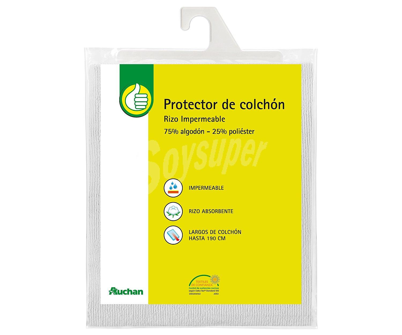 Productos econ micos alcampo protector de colch n 105 - Protector de colchon impermeable ...