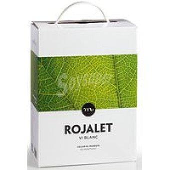 Rojalet Vino blanco bag in box D.O. Catalunya 3 l