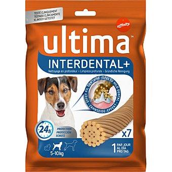 ULTIMA Interdental Stick dental para perros de 5-10 kg 7 unidades envase 130 g 5-10 kg