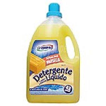 CHEMPRO Detergente máquina líquido perfume Marsella 42 dosis botella 3 l 42 dosis