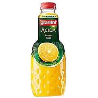 Granini Zumo de naranja ácida Botella 1 litro