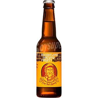 BASQUELAND Captain Norbert Kölsch cerveza rubia artesanal del País Vasco botella 33 cl botella 33 cl