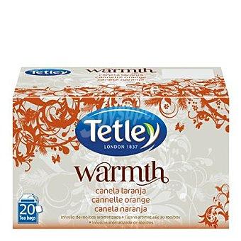 Tetley Infusión de canela y naranja Warmth  20 ud en bolsitas