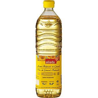 ALIADA aceite de girasol botella 1 l