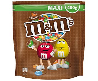 M&M Grageas de chocolate bolsa de 400 g