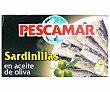 Sardinilla en Aceite de Oliva 57 Gramos Pescamar