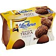 Postre lacteo delicias de trufa  pack 2 unidades 125 g La Lechera Nestlé