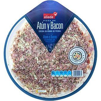Aliada Pizza fresca de atún y bacon Envase 415 g
