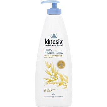 KINESIA crema corporal Pura Hidratación con avena piel normal dosificador 400 ml