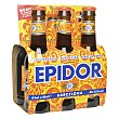 Cerveza rubia extra  Pack 6 x 20 cl Moritz Epidor