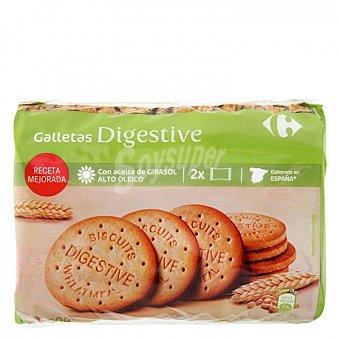 Carrefour Galletas con harina integral Digestive Carrefour 800 g
