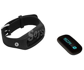 SPC FIT PRO 9602N Pulsera fitness con pantalla y reloj que monitoriza tu actividad física: pasos, calorías quemadas y distancia, horas de sueño y calidad del sueño