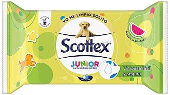Scottex Papel higiénico húmedo junior recambio Paquete 42 u