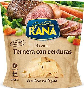 Rana Tortellini ternera con verdura 250 GRS