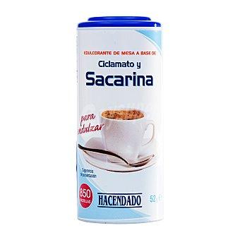 Hacendado Edulcorante sacarina ciclomato pastillas Bote 850 u