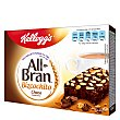Bizcochitos chocolate Pack 6 u x 40 g All Bran Kellogg's