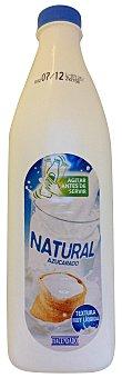 Hacendado Yogur liquido natural azucarado Botella 1,5 kg