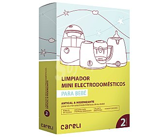 Careli Limpiador de mini electrodomésticos para bebé 2 unidades