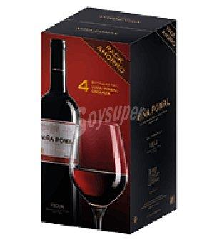 Viña Pomal Estuche vino tinto crianza D.O. Rioja Pack de 4x75 cl