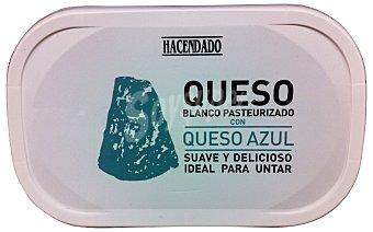 Hacendado Queso untar blanco con queso azul Tarrina 200 g