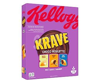 Trésor Kellogg's Cereales de chocolate roulette Caja 375 g