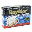 Almejas natural 110g Baymar