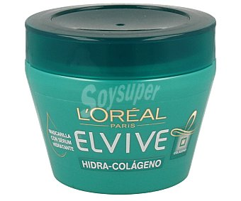 Elvive L'Oréal Paris Mascarilla Capilar colágeno mediterráneo 300 mililitros