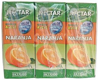 Hacendado Nectar naranja sin azucar 6 x 200 cc