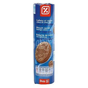 DIA Galleta al cacao rellena chocolate Paquete de 500 g