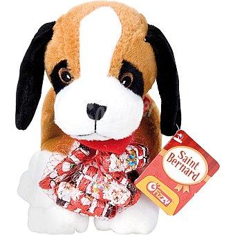 Fizzy Peluche San Bernardo con chocolatinas  unidad 55 g