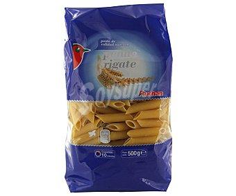 Auchan Penne rigate, pasta de sémola de trigo duro de calidad superior Paquete de 500 gramos