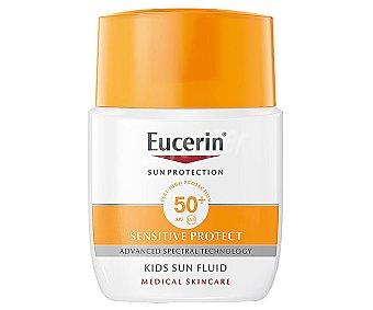 Eucerin Protector solar infantil, con factor de protección 50+ (muy alto) sensitive protect