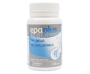 Epaplus Complemento alimenticio a base de magnesio, ácido hialuróncio y vitmainas B1, B2, B6 y C 60 uds