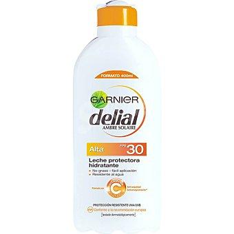 Delial Garnier Leche protectora ultra-hidratante FP-30 resistente al agua Bote 400 ml