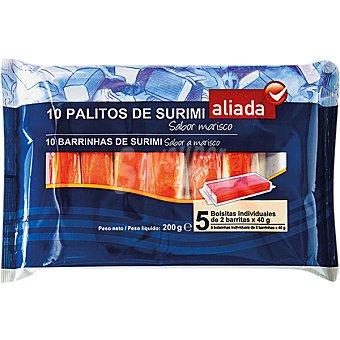ALIADA barritas de surimi bandeja 200 g bandeja 200 g