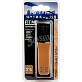 Maybelline New York Polvo Compacto Fit Me 315 Pack 1 unid