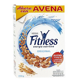 Fitness Nestlé Cereales de trigo integral con avena Caja 500 g