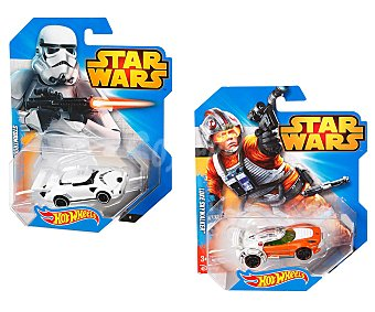 HOT WHEELS Mini vehículos a escala 1:64Star Wars serie Deluxe 1 unidad