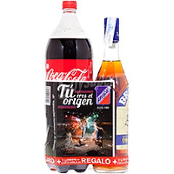 Brugal Ron Botella 70 cl + Coca cola