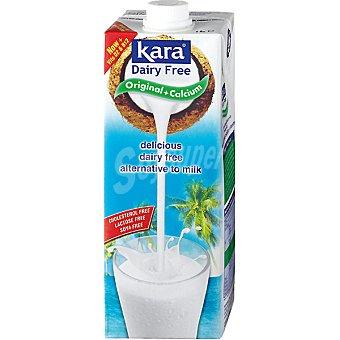 KARA Bebida de coco con chocolate y calcio sin lactosa Brik 1 l