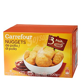 Carrefour Nuggets pollo 500 g