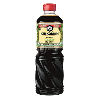 Kikkoman Salsa de soja Tamari Botella 1 l
