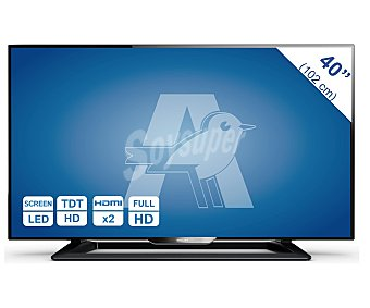 """Philips Televisión 40"""" LED 40PFH4009/88 1 unidad"""