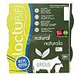 Yogur bífidus natural sin gluten Pack de 4 unidades de 125 g Lacturale