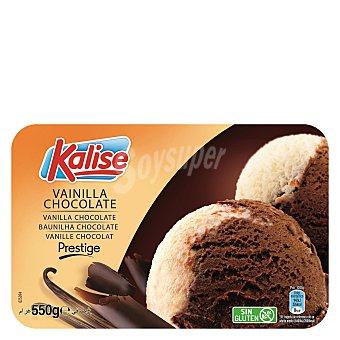 Kalise Helado vainilla y chocolate prestige sin gluten 550 g