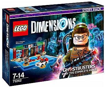 LEGO Pack de historia Cazafantasmas, incluye 2 figuras interactivas lego Dimensions